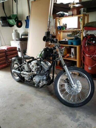 2008 Custom Built Motorcycles Bobber Black photo