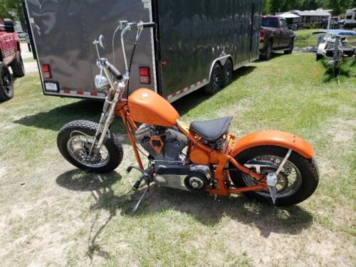 2008 Custom Built Motorcycles Custom Orange for sale