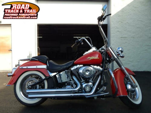 2008 Harley-Davidson FLSTN - Softail® Deluxe -- Orange photo
