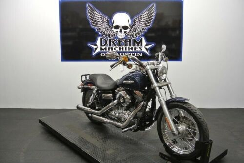 2008 Harley-Davidson FXDC – Dyna Super Glide Custom — Blue for sale