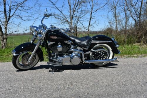 2008 Harley-Davidson Softail Black photo