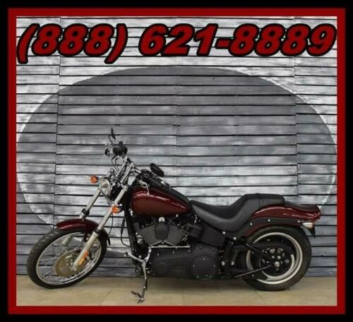 2008 Harley-Davidson Softail Night Train Red photo
