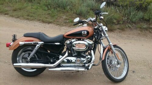 2008 Harley-Davidson Sportster Anniversary Copper Pearl/Vivid Black photo