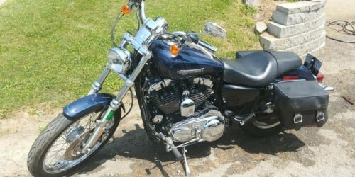 2008 Harley-Davidson Sportster Blue photo