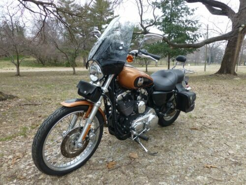2008 Harley-Davidson Sportster Copper - Black photo