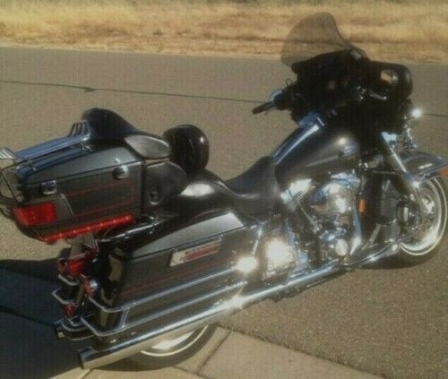 2008 Harley-Davidson Touring Black photo