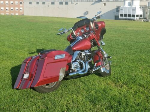2008 Harley-Davidson Touring Red for sale craigslist