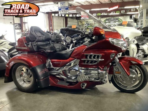 2008 Honda Gold Wing® Audio / Comfort / Navi — Red for sale
