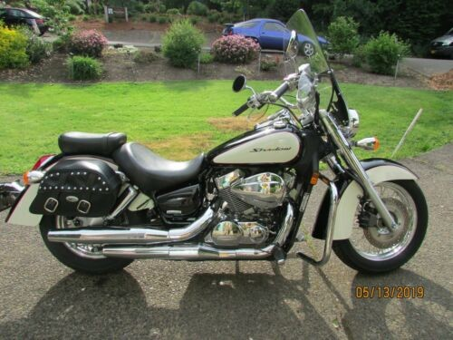 2008 Honda Shadow Black photo