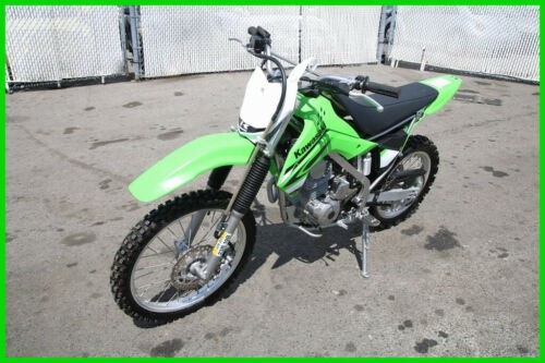 2008 Kawasaki KLX 140 Green for sale