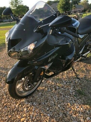 2008 Kawasaki Ninja ZX14 metallic dark blue photo