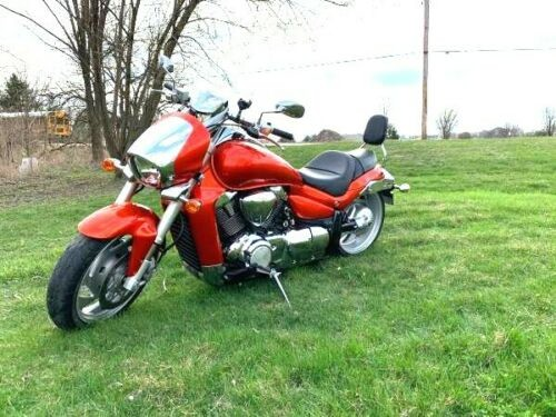 2008 Suzuki Boulevard Orange photo