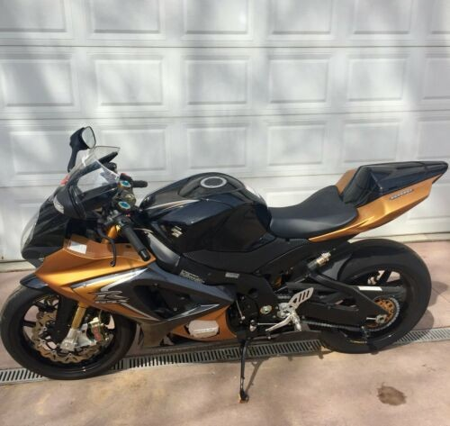 2008 Suzuki GSX-R Black photo