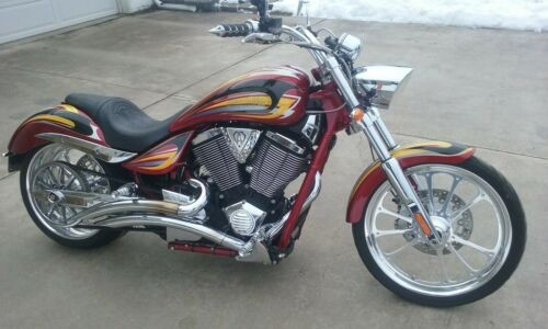 2008 Victory Vegas Jackpot Arlen Ness Signature Series ANSS Custom metallic for sale