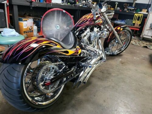 2009 Custom Built Motorcycles Pro Street Black photo