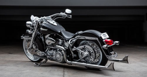 2009 Harley-Davidson Softail Black photo