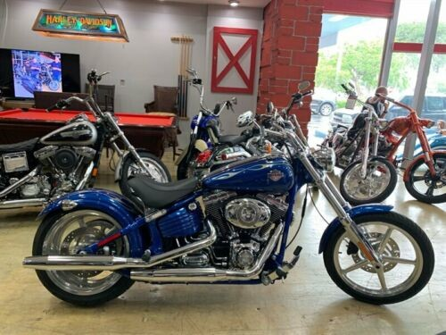 2009 Harley-Davidson Softail Blue photo