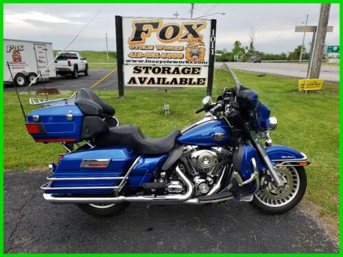 2009 Harley-Davidson Touring Ultra Classic Electra Glide Dark Blue Pearl photo