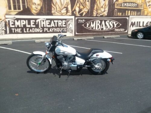 2009 Honda Shadow White photo