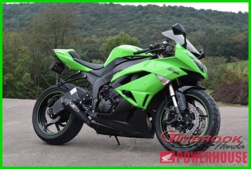 2009 Kawasaki Ninja ZX6R Green for sale craigslist