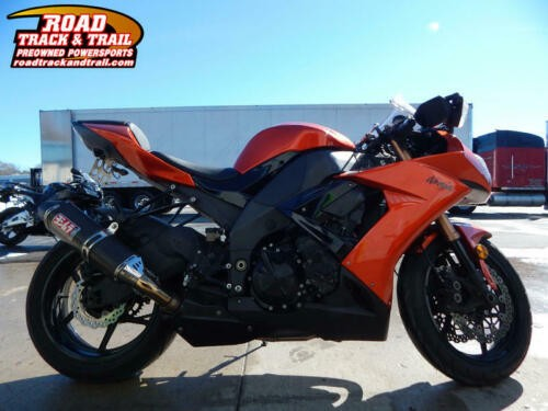 2009 Kawasaki Ninja -- Orange photo