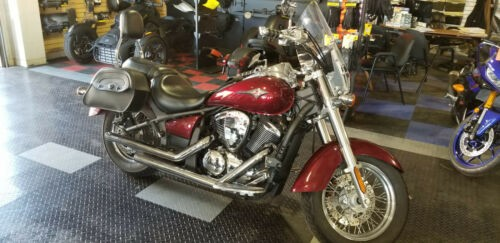 2009 Kawasaki Vulcan 900 Classic VN900B6 Red photo