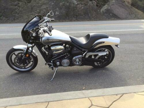 2009 Yamaha Road Star Warrior Silver for sale craigslist