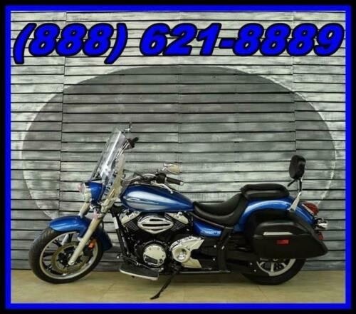 2009 Yamaha V Star -- Blue photo