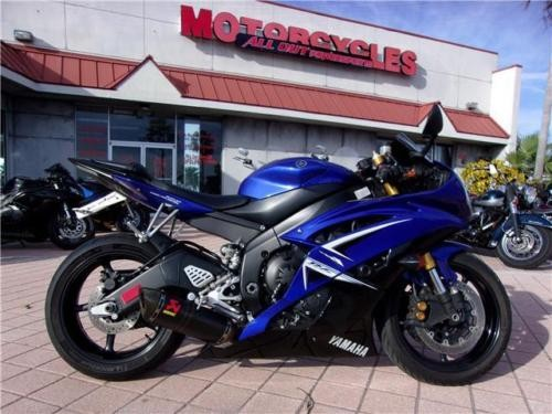 2009 Yamaha YZF-R -- Blue for sale