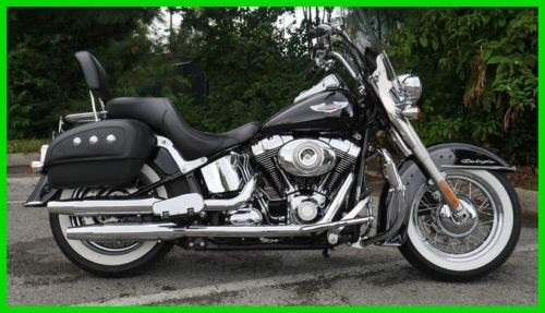 2010 Harley-Davidson Softail FLSTN  Deluxe Black for sale craigslist