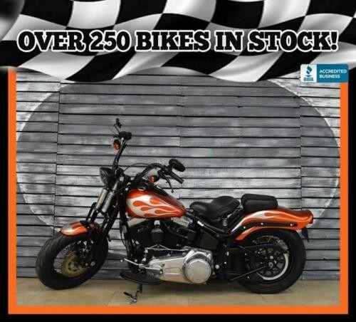 2010 Harley-Davidson Softail Cross Bones Orange craigslist