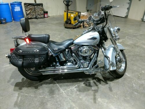2010 Harley-Davidson Softail Silver photo
