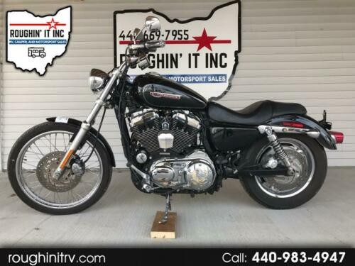 2010 Harley-Davidson Sportster XL1200C Black photo