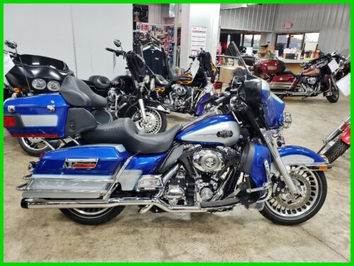 2010 Harley-Davidson Touring Flame Blue Pearl / Brilliant Silver for sale craigslist