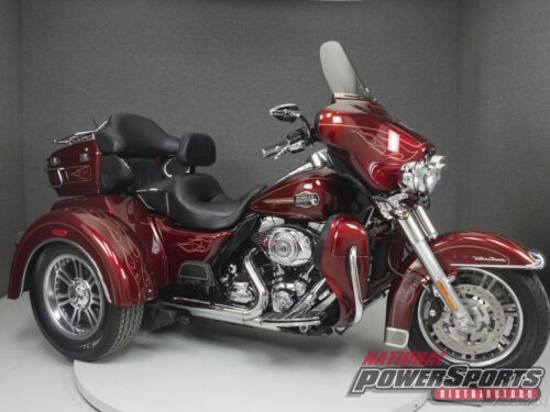 2010 Harley-Davidson Touring RED HOT SUNGLOW photo