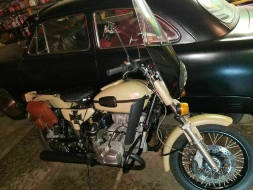 2010 Ural St Solo 750 cc Motorcycle Tan photo