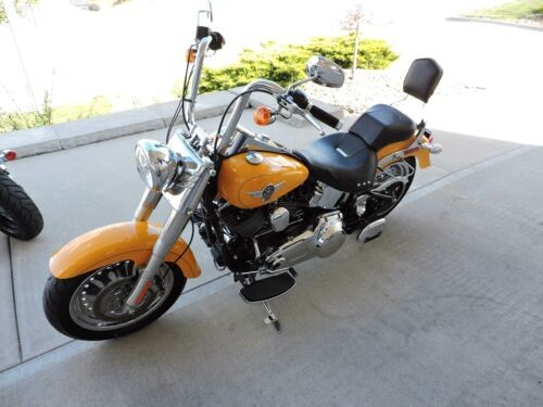 2011 Harley-Davidson FATBOY -- Yellow photo