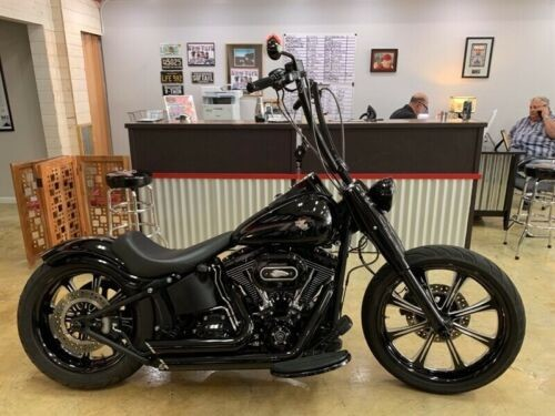 2011 Harley-Davidson Softail FLSTFB FATBOY LO Black photo