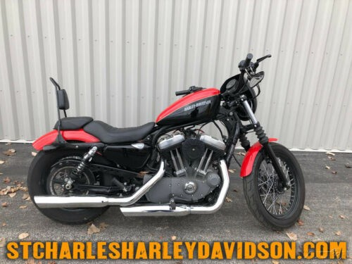 2011 Harley-Davidson Sportster XL1200N - Nightster Red/Blk photo
