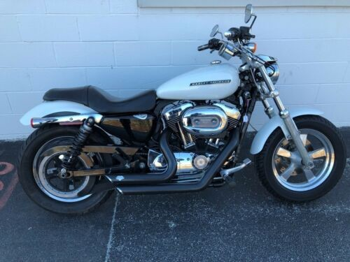 2011 Harley-Davidson Sportster White photo