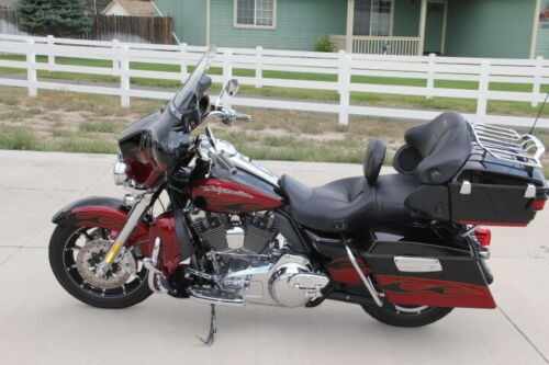 2011 Harley-Davidson Touring Red photo