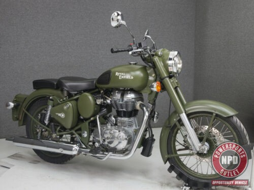 2011 Royal Enfield Bullet C5 MILITARY BATTLE GREEN for sale craigslist