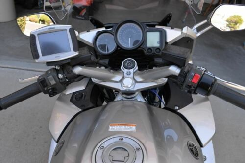 2011 Yamaha FJR Silver photo