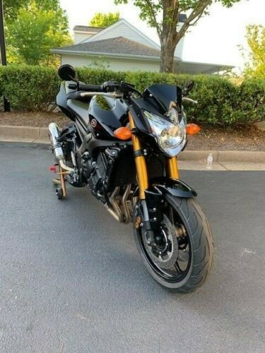 2011 Yamaha FZ Black photo