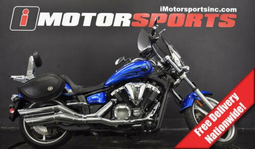 2011 Yamaha Stryker — Blue for sale