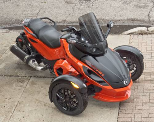 2012 Can-Am RS-S-SM5 Orange photo