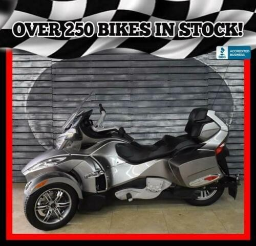 2012 Can-Am Spyder RT-S SE5 -- Silver photo