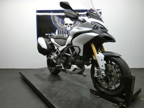 2012 Ducati Multistrada 1200 S Touring -- White photo