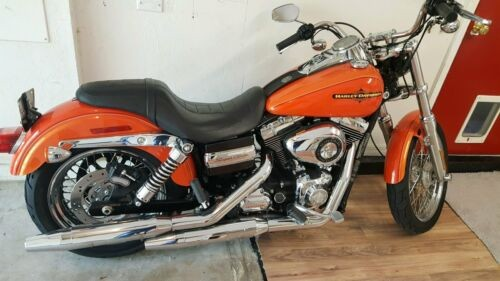 2012 Harley-Davidson Dyna Super Glide Tequila Sunrise/ Orange photo