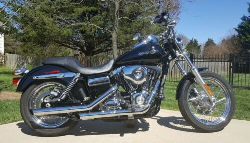 2012 Harley-Davidson Dyna Black photo